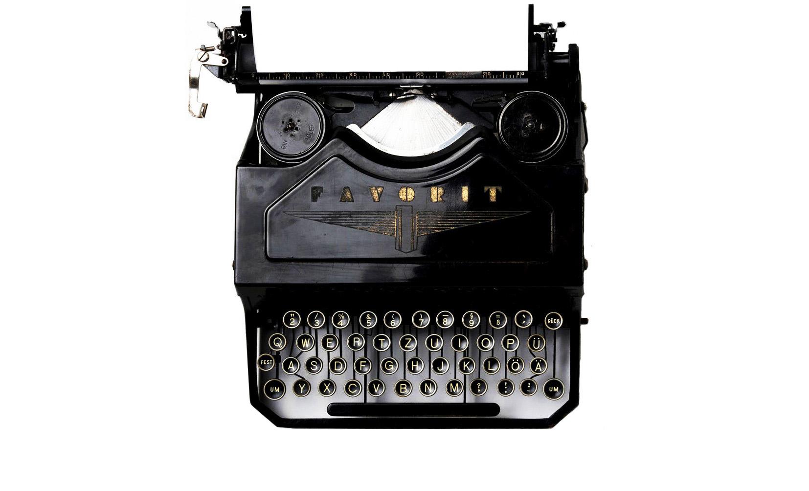 typewriter-kl sw kurz