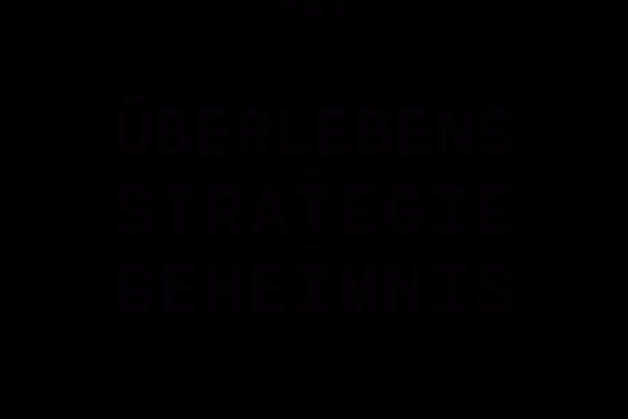 #21 – L. Engström – Überlebensstrategiegeheimnis