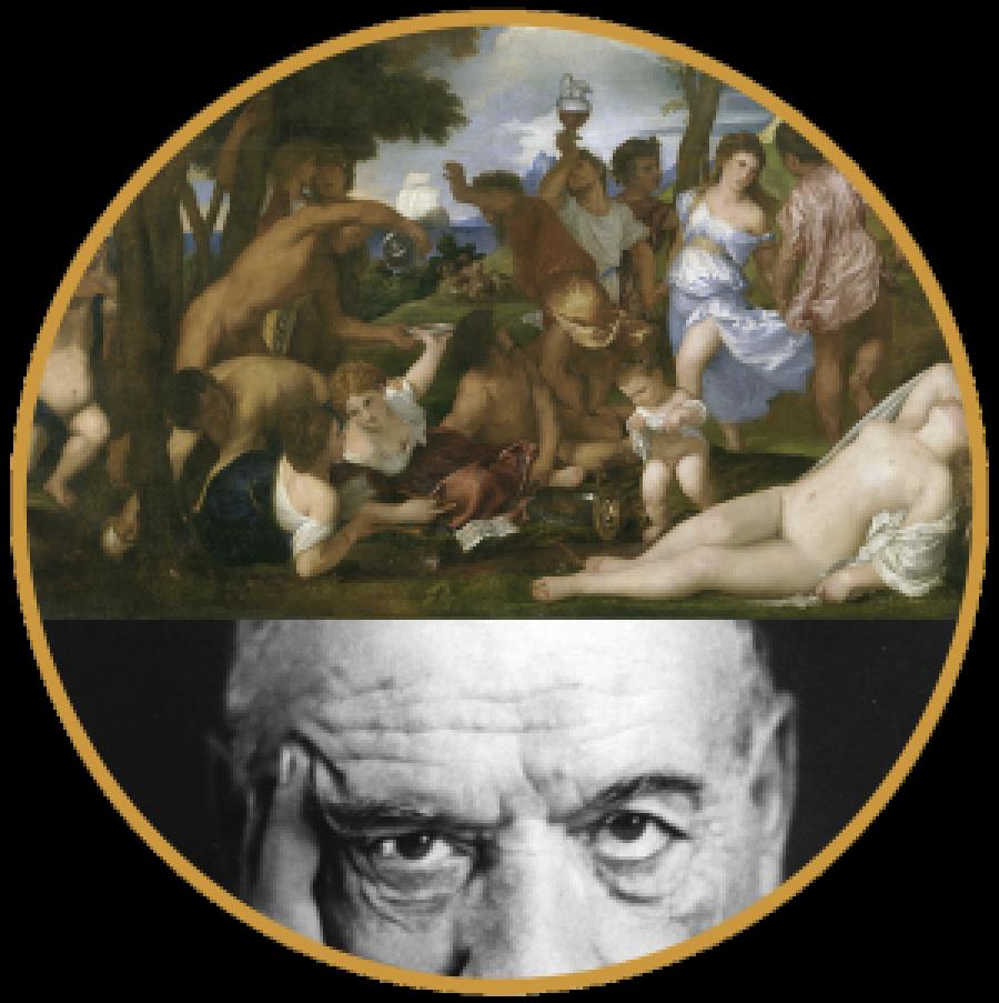 José Ortega y Gasset zu Tizians Bacchanal